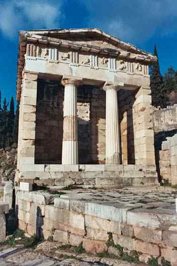 Treasury of Athens at Delphi