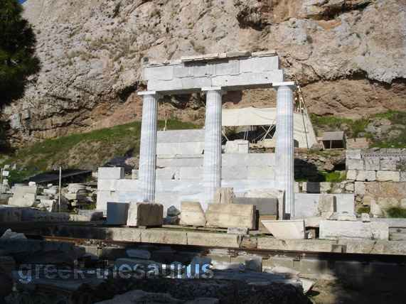The temple of Asclepios
