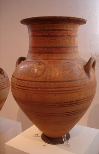 Geometric Periods Of Pottery