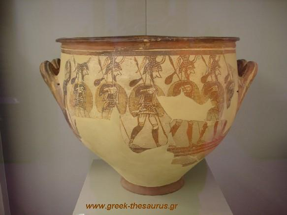 Mycenaean Pottery Pictures And Photo Collection From Greek Museums